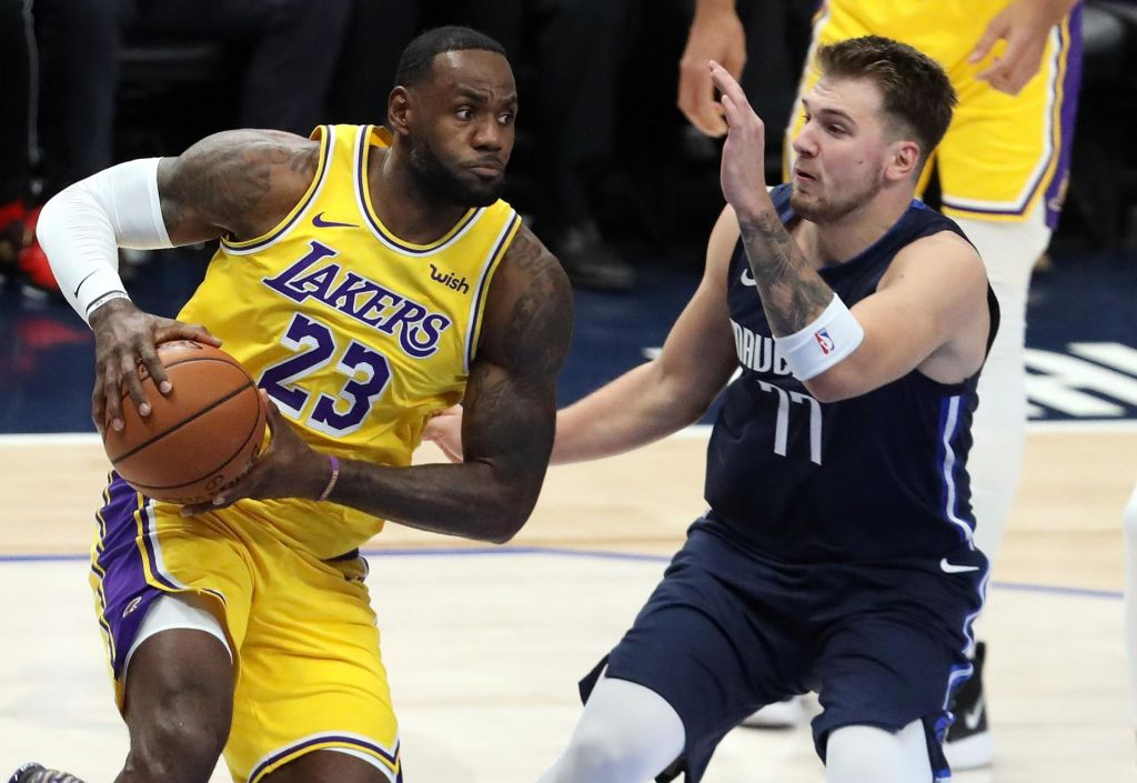 Deseti trojni dvojček Luke Dončića v ligi NBA