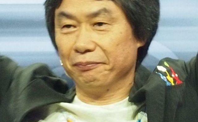 Šigeru Mijamoto je ustvaril ikonične franšize iger, kot so donkey kong, mario bros, star fox in the legend of Zelda.<br /> Foto Wikipedija