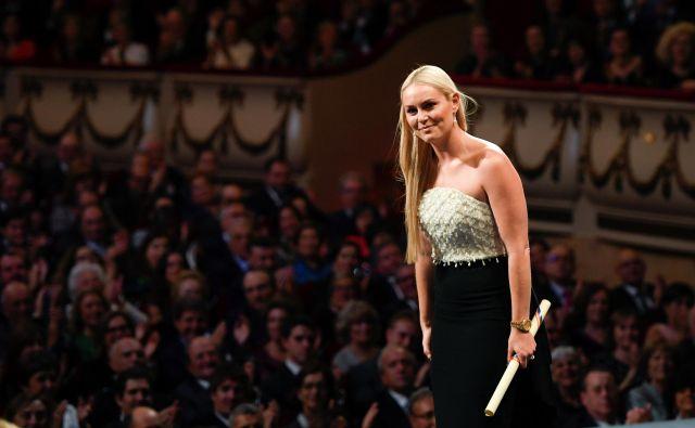 Smučarska kraljica Lindsey Vonn, ki ji po športni upokojitvi ne zmanjka novih delovnih izzivov, je letos med drugim prejela ugledno nagrado princeze Asturije na področju športa. FOTO: Reuters