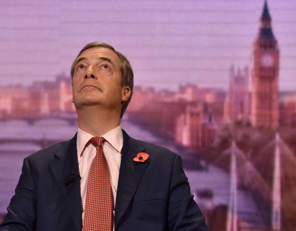 Farage ne bo kandidiral na decembrskih volitvah