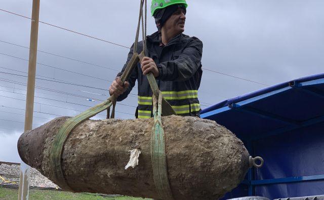 Podatkov o tem, koliko je še neeksplodiranih bomb, nima nihče. FOTO: Anja Vukčič/Mariborinfo