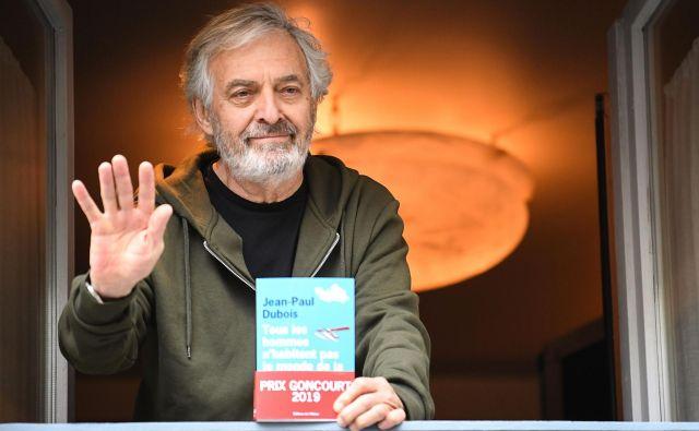 Jean-Paul Dubois in njegov roman Foto: Afp