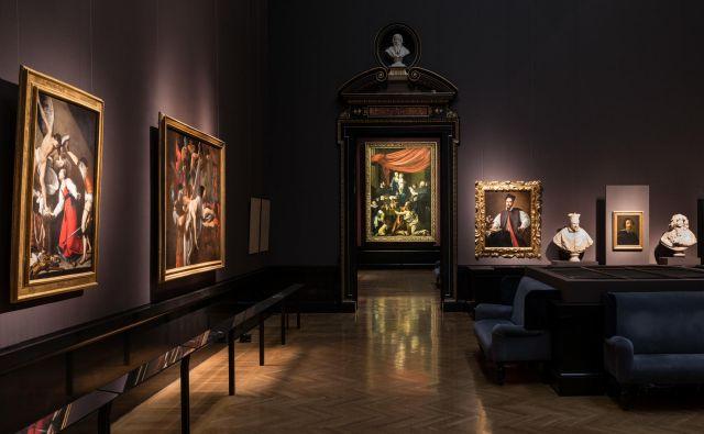 Dela, ki so na ogled na razstavi <em>Caravaggio in Bernini</em> v Umetnostnozgodovinskem muzeju na Dunaju, povezuje izražanje čustev.