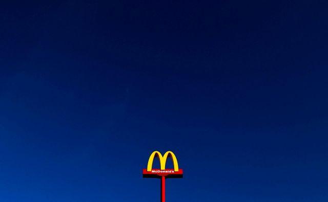 Upravni odbor McDonald'saje v nedeljo sporočil, da bo izvršnega direktorja Easterbrooka zamenjal Chris Kempczinski.FOTO: Yves Herman/Reuters
