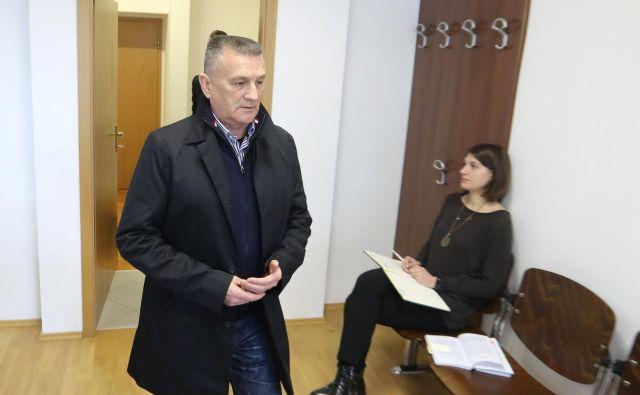Franjo Keleminović trdi, da se je izšolal v Ukrajini. Foto Dejan Javornik
