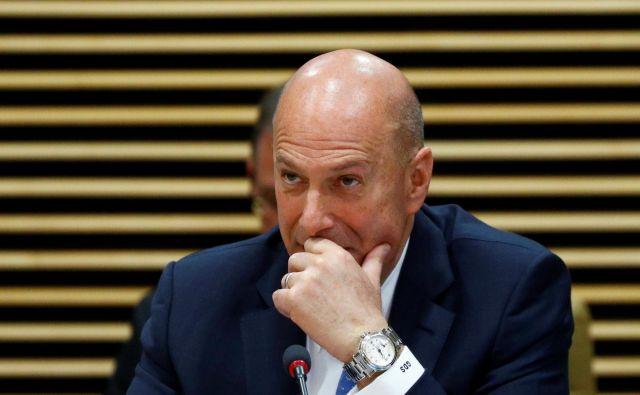 Ameriški veleposlanik pri EU Gordon Sondland. FOTO: Francois Lenoir Reuters