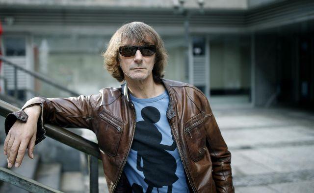 Davor Gobac: »Na začetku so nam vsi govorili, da smo različica Ramonesov.«<br /> Foto Blaž Samec