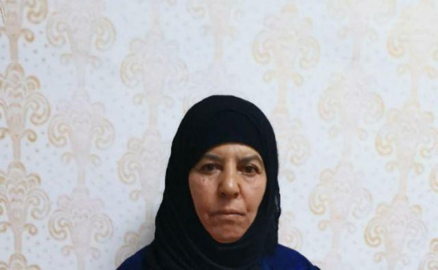 Turki ocenjujejo, da bi z aretacijo Rasmije Avad lahko pridobili dragocene obveščevalne podatke o Islamski državi. FOTO: Handout/AFP