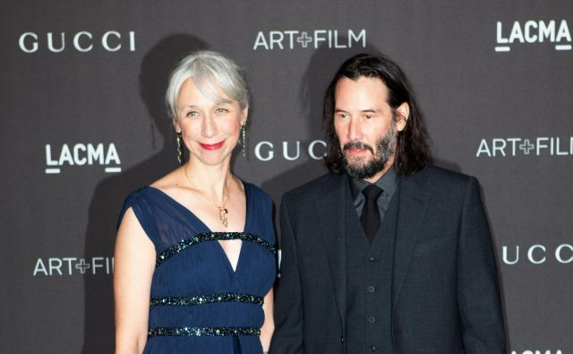 Alexandra Grant in Keanu Reeves FOTO: Faye's Vision/cover Images