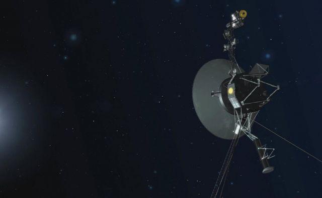 Voyagerja bosta preživela Zemljo, saj bosta na poti neovirano potovala še nekaj milijard let. FOTO: NASA/JPL