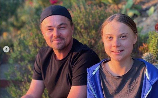 Leonardo DiCaprio je velik oboževalec Grete Thunberg. Foto: leonardodicaprio/Instagram