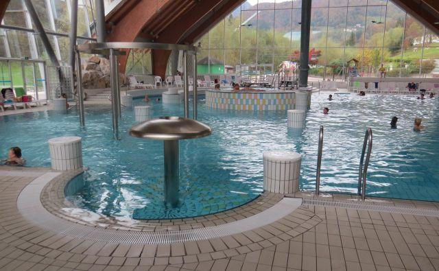 Termalna voda v Snoviku je priznana kot naravno zdravilno sredstvo. FOTO: Bojan Rajšek/Delo