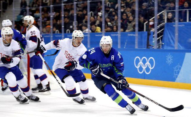 Rok Tičar je bil tudi na zadnjem olimpijskem turnirju, lani v Južni Koreji, med udarnimi aduti slovenske reprezentance. FOTO: Matej Družnik7Delo