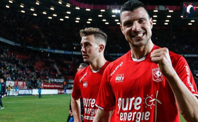 Haris Vučkić je v tej sezoni v majici Twenteja odigral 11 tekem, pri tem pa zbral šest golov in podajo. FOTO: Facebook