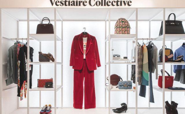 Za portal Vestiaire Collective, ki je pred nedavnim priložnostno gostoval tudi v prestižni pariški veleblagovnici Le Bon Marché, je selitev v Selfridges bolj marketinška poteza, ki bo utrdila ime, ne pa prinašala zaslužka. FOTO: Promocijsko gradivo