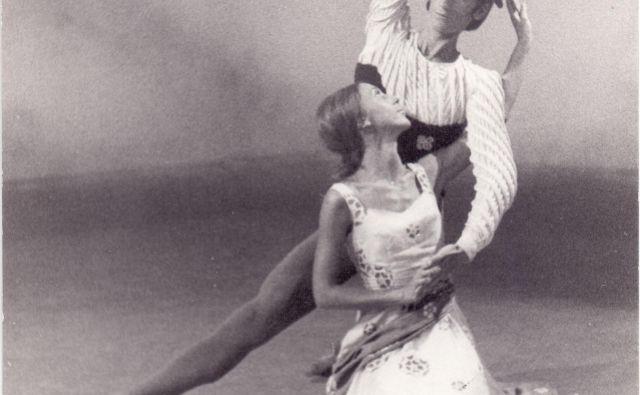 Maruša in Vojko Vidmar v izvedbi <em>Loka</em> iz leta 1970 Foto arhiv RTV SLO