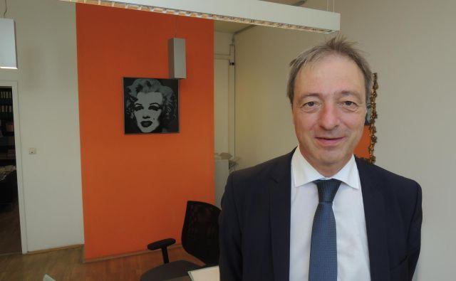 Predsednik društva koroških slovenskih pravnikov in veteran bojev za uveljavitev pravic slovenske narodnostne manjšine Rudi Vouk. FOTO: Boris Čibej