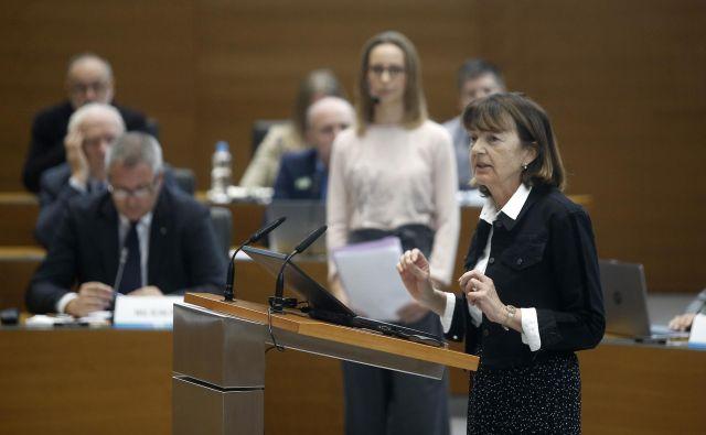 Na posvetu o podnebnem dogovoru v Dr�žavnem zboru so od vlade zahtevali razglasitev podnebne krize. FOTO: Blaž Samec/Delo