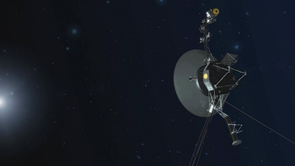 Voyagerjevo sporočilo iz medzvezdnega prostora