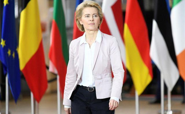 Če ne bo zapletov, bo nova evropska komisija pod vodstvom Ursule von der Leyen lahko začela delovati 1. decembra, z le enomesečno zamudo. Foto Reuters
