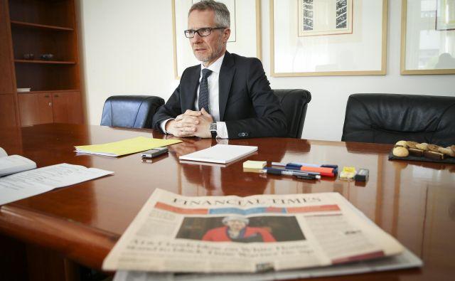 Glede pritiskov politike je Boštjan Vasle dejal, da so se ob sprejemu funkcije zavezali, da bodo »neodvisna in strokovna institucija in da bodo tako tudi delovali«. Foto Jože Suhadolnik