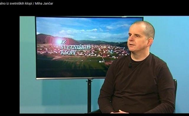 Po prepričanju Poldeta Žnideršiča. podpredsednika litijskega Desusa, je Miha Jančar, sicer policist (na fotografiji) dober občinski svetnik. FOTO: Litijska lokalna televizija ATV