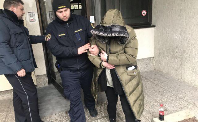Barbara Filipčič se bo branila s prostosti. FOTO: Moni Černe