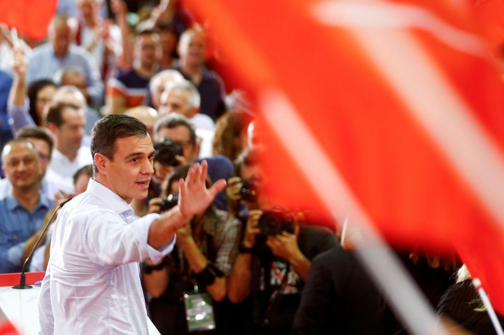 FOTO:Razpršenost in naveličanost politične Španije