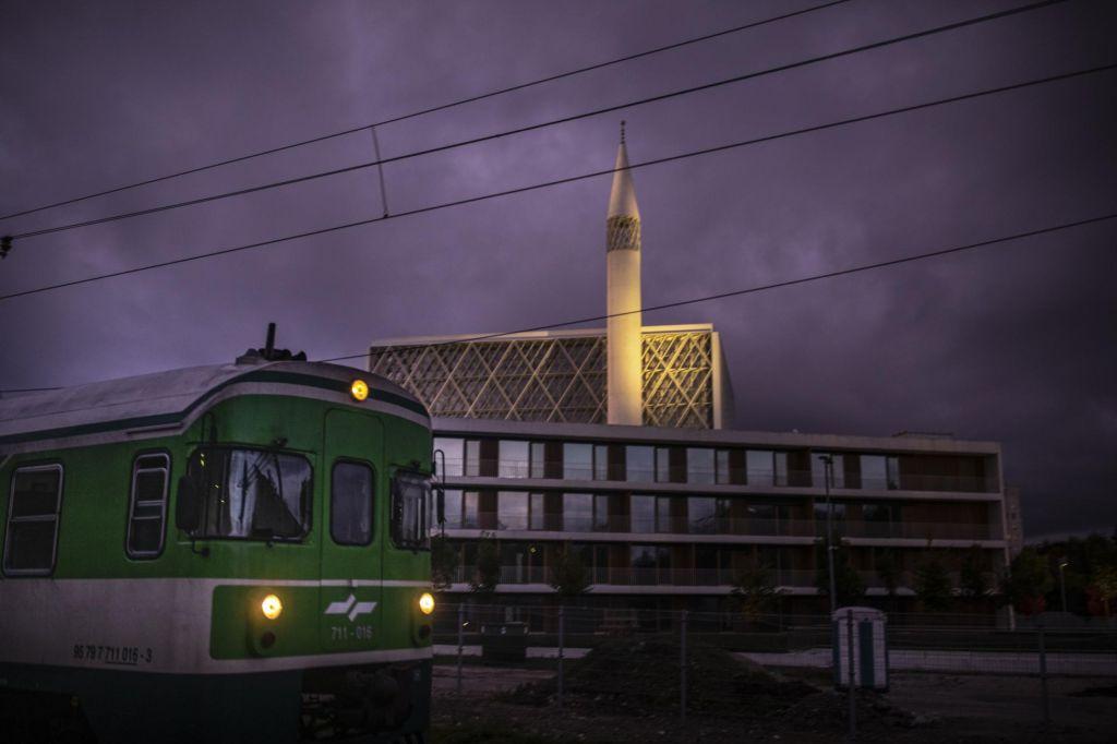 FOTO:Ljubljana s prvo pametno džamijo v Evropi