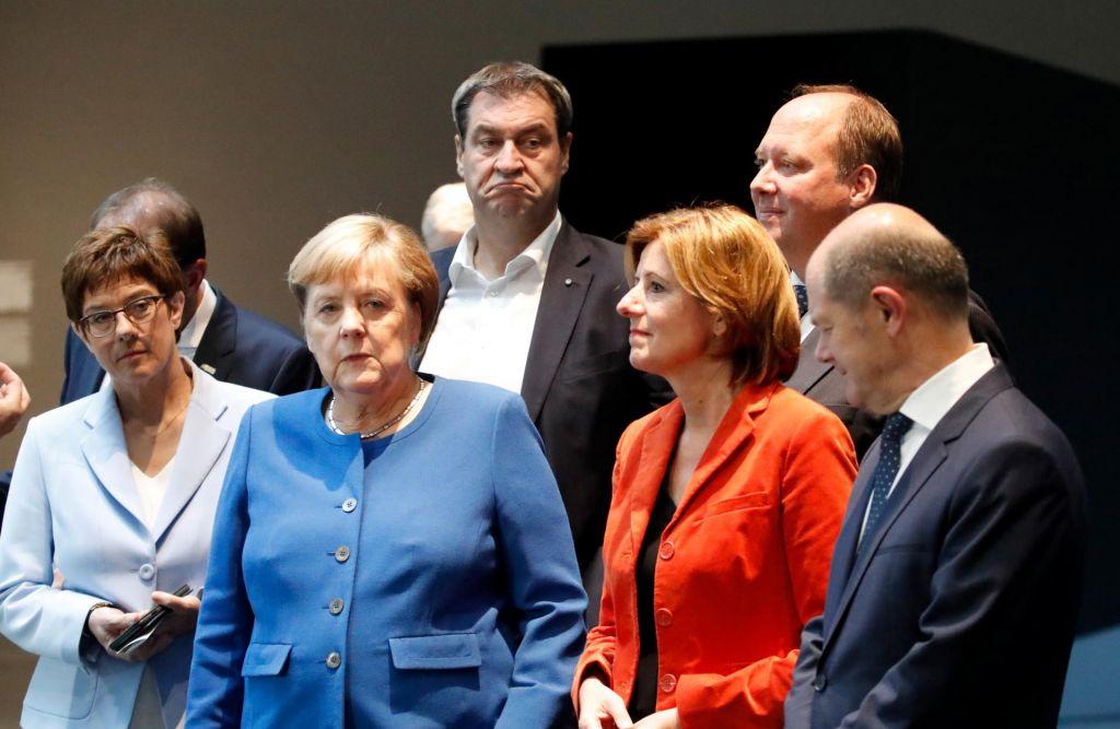 FOTO:Kako stabilna je velika koalicija?