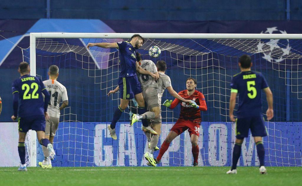 FOTO:Drama v Zagrebu: Dinamo v sodnikovem dodatku zapravil dva gola prednosti