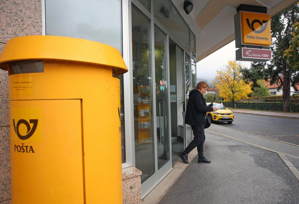 FOTO:Pri poštah dobiček ne bi smel biti temeljno merilo