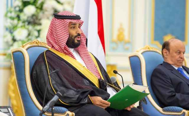Savdski prestolonaslednik Mohamed bin Salman. FOTO: Saudi Press Agency via Reuters