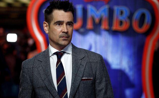 Colin Farrell med evropsko premiero Dumba. FOTO: Henry Nicholls/Reuters