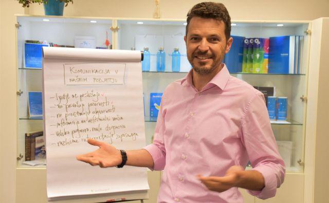 Tomaž je del ekipe Transformacija, ki že 15 let podpira slovenska podjetja na njihovi poti k večji učinkovitosti. FOTO: Transformacija d. o. o.