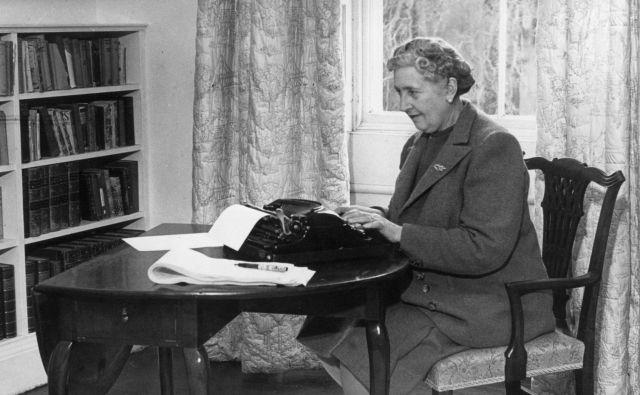 Agatha Christie leta 1946. Foto Osebni Arhiv