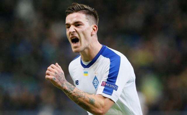 Benjamin Verbič je dosegel svoj prvi gol v letošnji evropski ligi. FOTO: Reuters