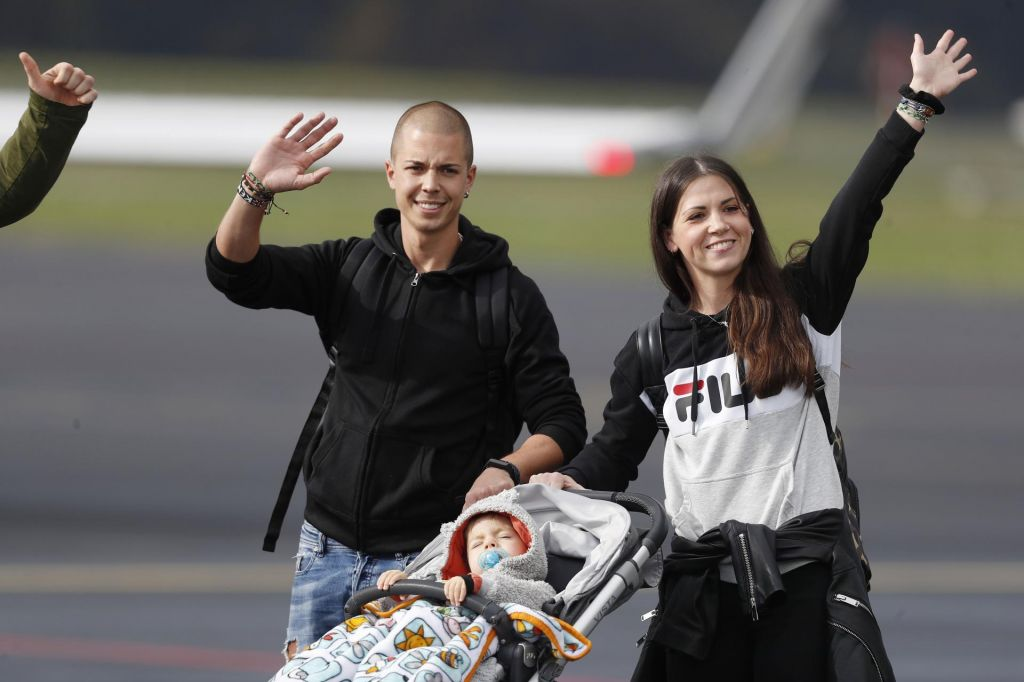 Kris je srečno priletel v ZDA, prvi obisk klinike ga čaka v petek