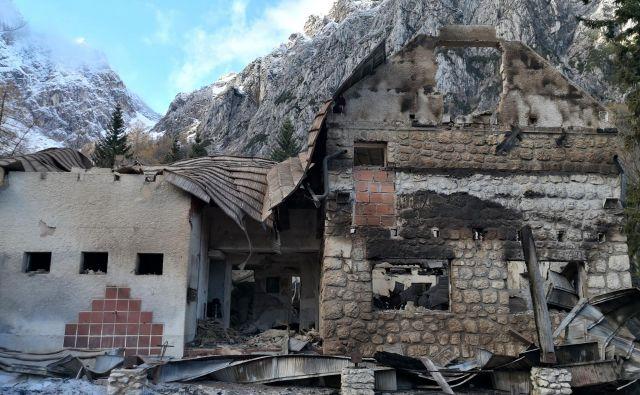 Planinsko društvo Celje Matica je v dveh letih ostalo brez dveh koč in z uničenjem Okrešlja še brez prihodkov za sanacijo koče na Korošici. FOTO: Rock Ošep