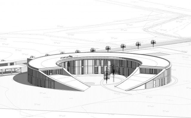 Načrtovana nova stavba SiDG. FOTO: SiDG