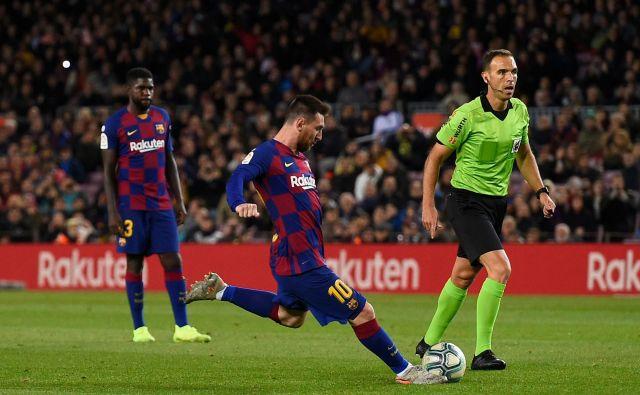 Lionel Messi je velemojster izvajanja prostih strelov in enajstmetrovk. FOTO: AFP