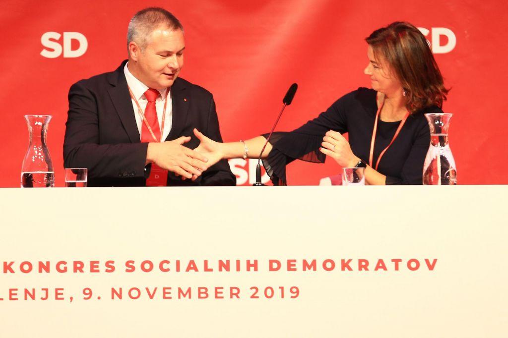 FOTO:SD: Premier Šarec naj čimprej skliče koalicijski vrh