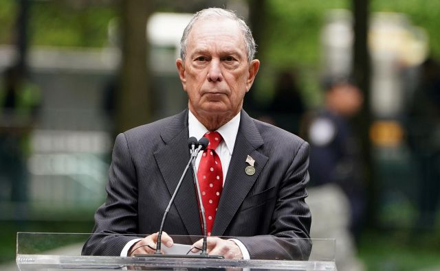 Michael Bloomberg je bil župan New Yorka od leta 2002 do 2013. FOTO: Carlo Allegri/Reuters