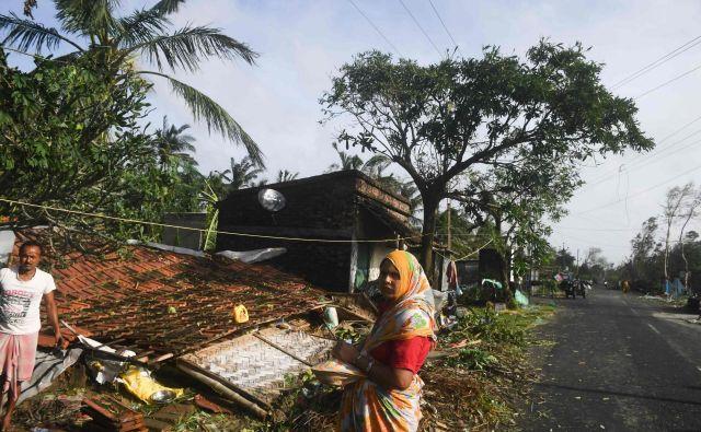 Za natančnejšo oceno škode je še prezgodaj. FOTO: Dibyangshu Sarkar/Afp