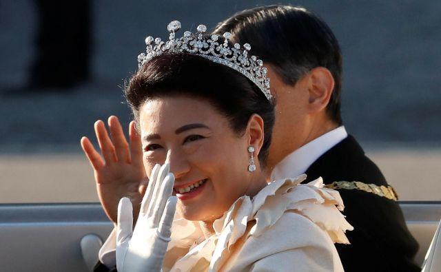 Naruhito je cesarske dolžnosti sicer prevzel 1. maja.FOTO: Kim Hong-ji/Reuters