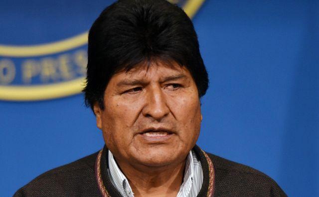 Evo Morales. FOTO: Enzo De Luca Afp