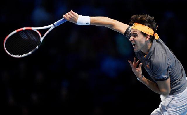 Dominic Thiem je suvereno dobil dvoboj proti Rogerju Federerju. FOTO: Reuters