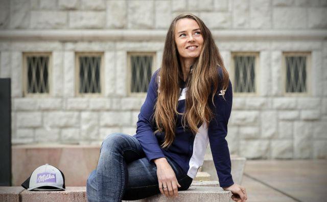 Nekdanja zvezdnica belih strmin Tina Maze je v drugi karieri srečna in zadovoljna. Čas in energijo usmerja v družinsko življenje, nadaljuje pa tudi številne poslovne projekte. FOTO: Uroš Hočevar/Delo