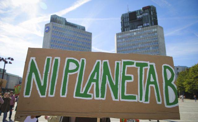 Tudi znanstveniki opozarjajo: Ni planeta B. FOTO: Jože Suhadolnik