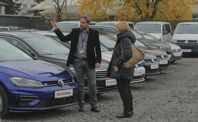 Za rabljene avtomobile iz uvoza je pri nas vedno veliko zanimanja, posebno za tiste z dizelskim motorjem. FOTO: Jože Suhadolnik/Delo